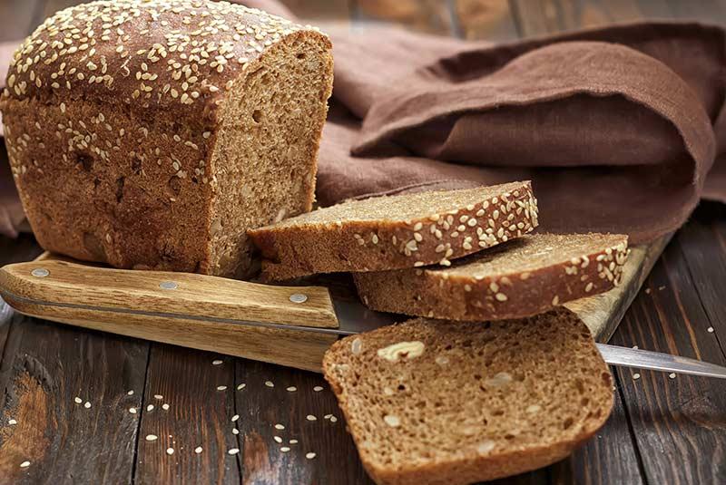 نان قهوه ای
