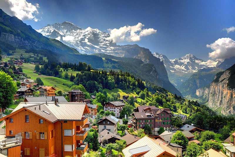 بهترین اقامتگاه های یونگفراو - سوئیس