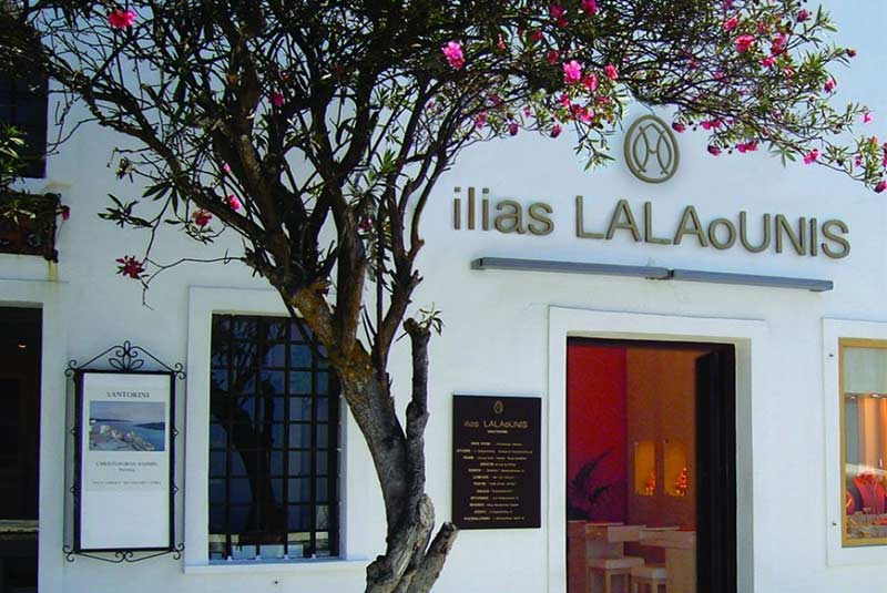 ایلیاس لالائونیس - خرید در سانتورینی
