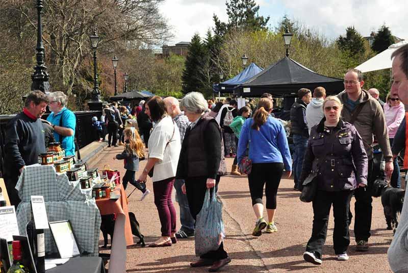 بازار غذای جزموند - نیوکاسل