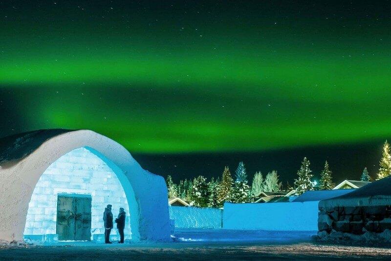 هتل یخی، لاپلاند سوئد