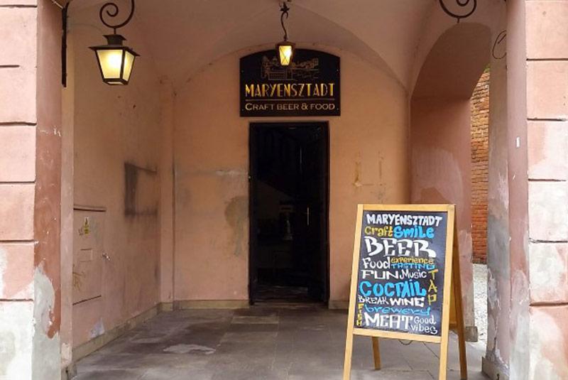 رستوران مارینشتات - ورشو