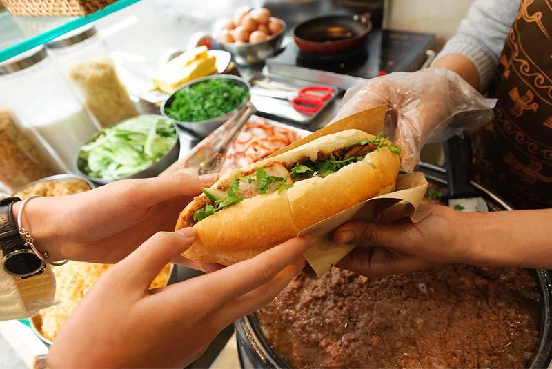 ساندویچ بان می - هانوی