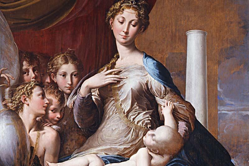 مریم گردن بلند، پارمیجانینو