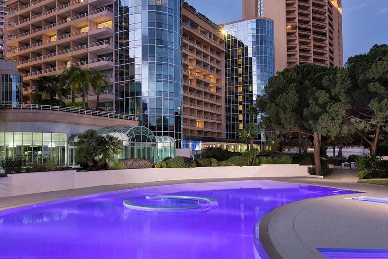 هتل لو مریدیان بیچ پلازا - موناکو