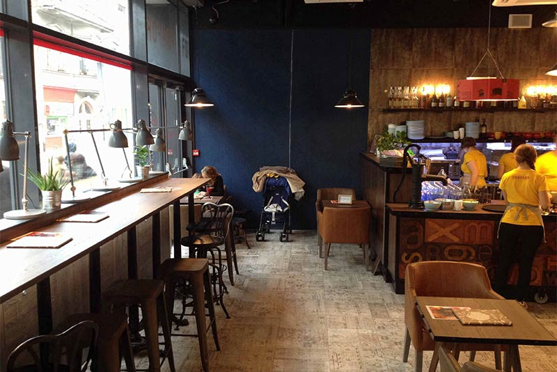 کافه فوکس فورد - براتیسلاوا