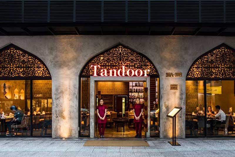 رستوران هندی تاندور - هوشی مین