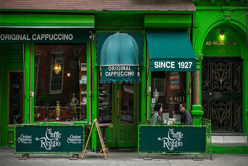 کافه رجیو، نیویورک