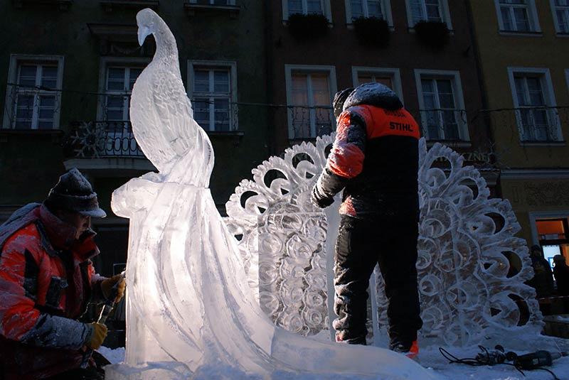 فستیوال یخ - لهستان