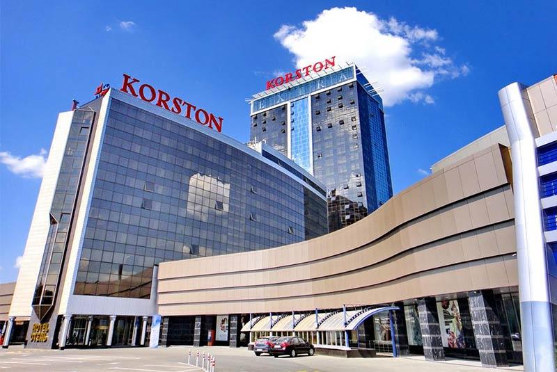 هتل کورستون - کازان