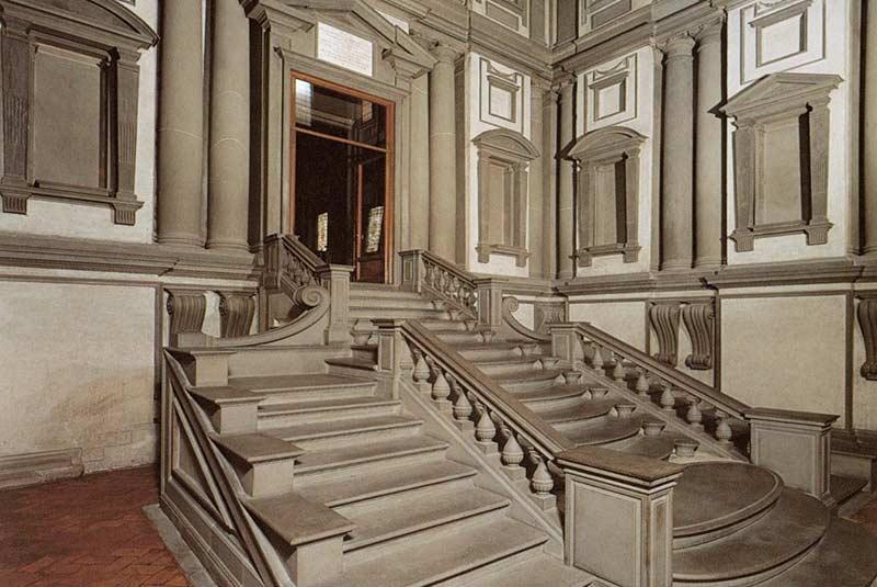 کتابخانه لورنسی میکل آنژ