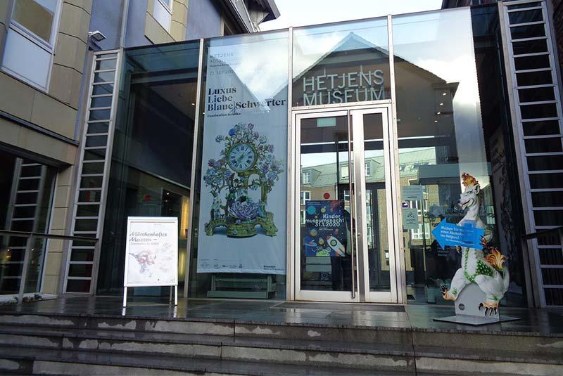 موزه سرامیک هتجنز - دوسلدورف
