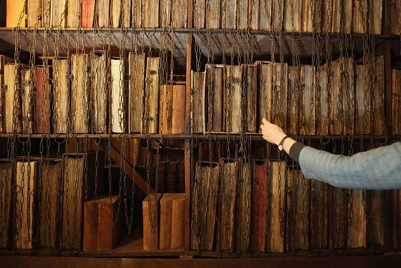کتابخانه زنجیری کلیسای هرفورد