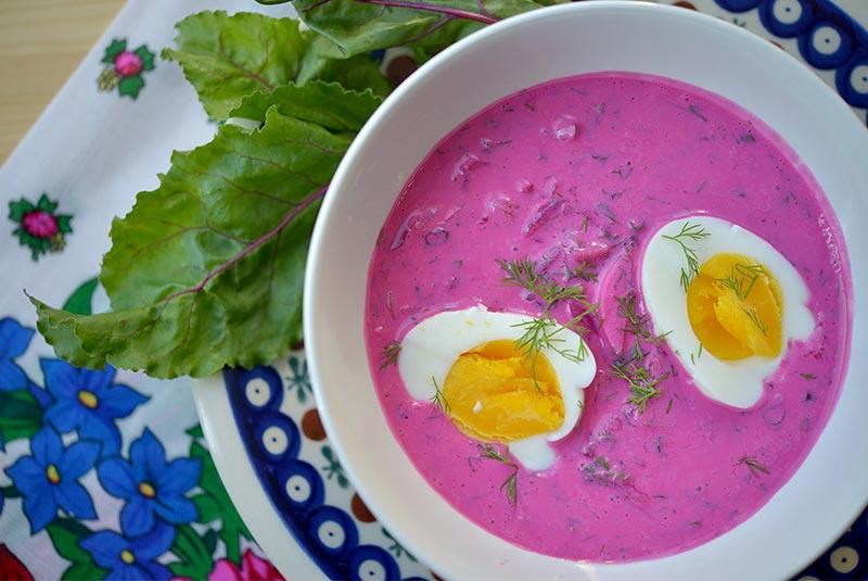 سوپ خودنیک - غذای لهستانی