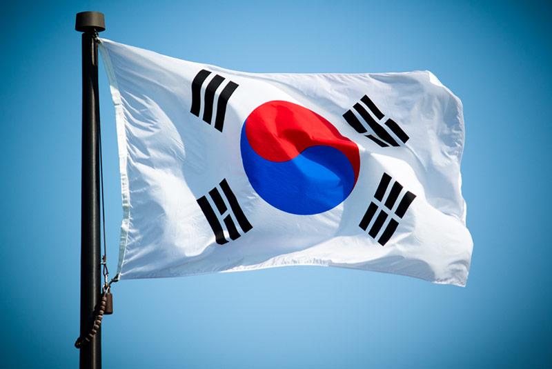 پرچم کره جنوبی