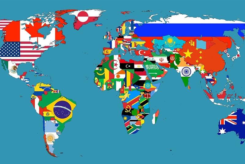 معنی پرچم های جهان