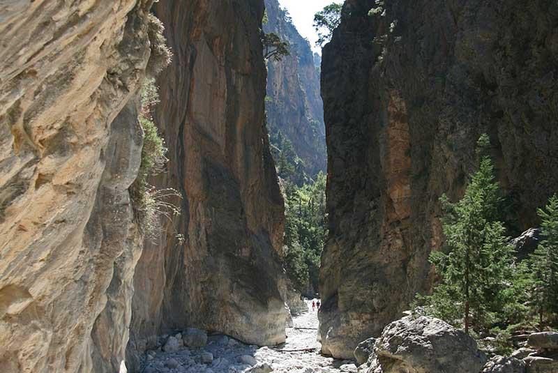 دره ساماریا، یونان