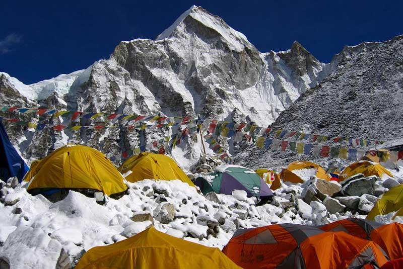 بیس کمپ اورست، نپال