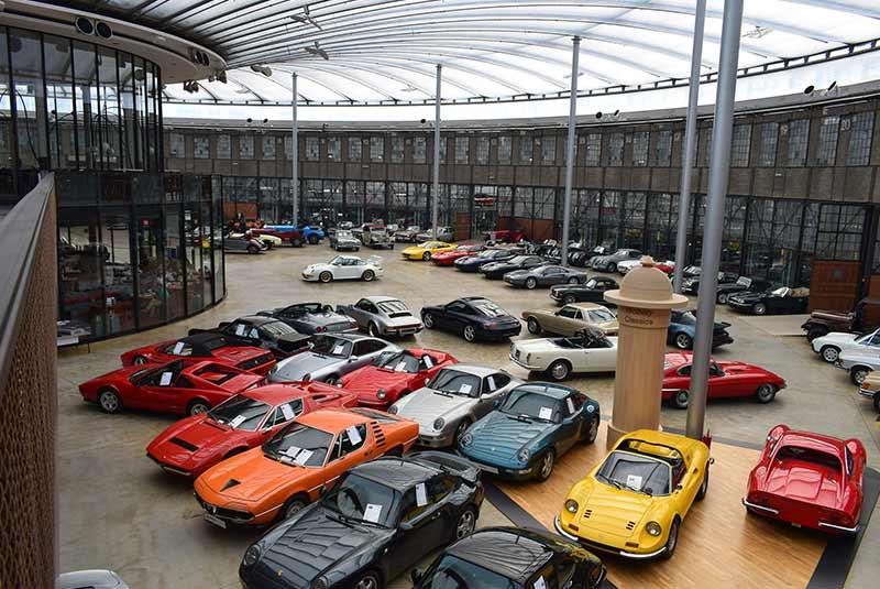 موزه خودروهای کلاسیک دوسلدورف