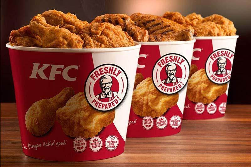 کی اف سی - مرغ سوخاری کنتاکی