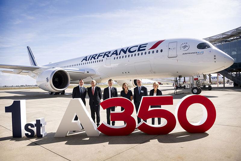 هواپیمای A350 شرکت ایرباس