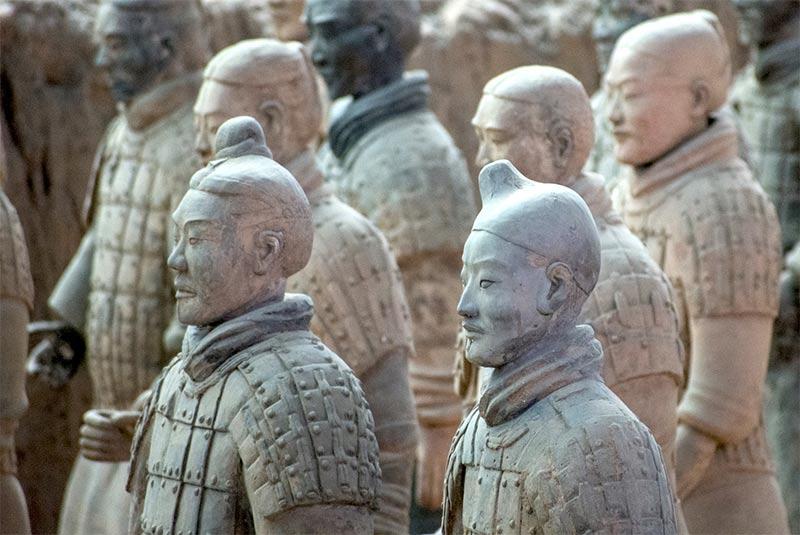 مقبره کین شی هوانگ - چین