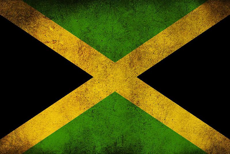 پرچم جامائیکا