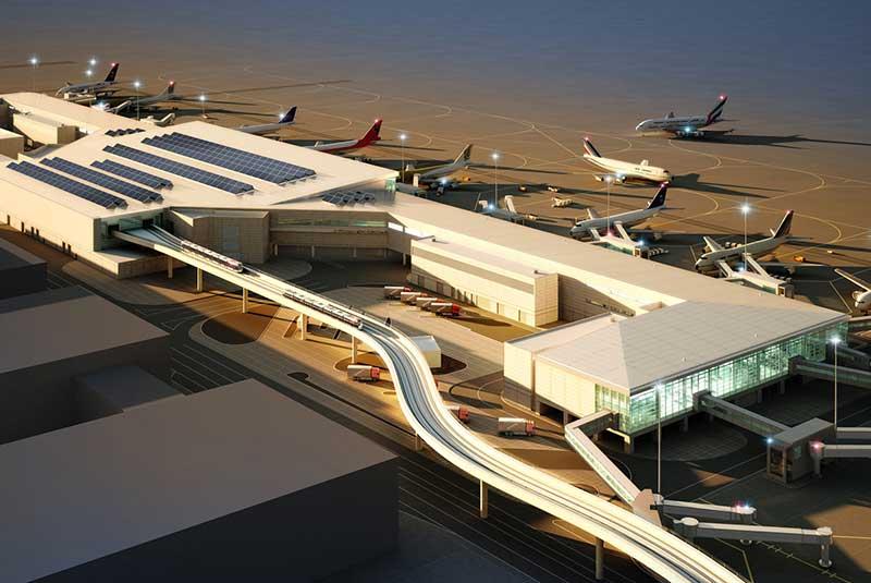 کنکورس فرودگاه دبی