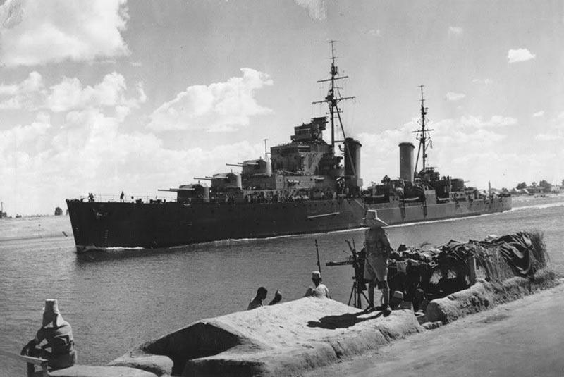 کانال سوئز در جنگ جهانی دوم
