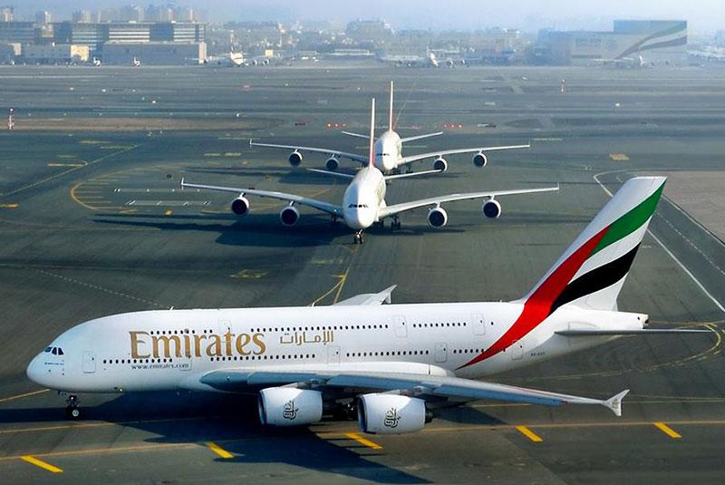 هواپیمای A380 خطوط هوایی امارات