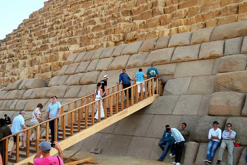 هرم منقرع مصر باستان