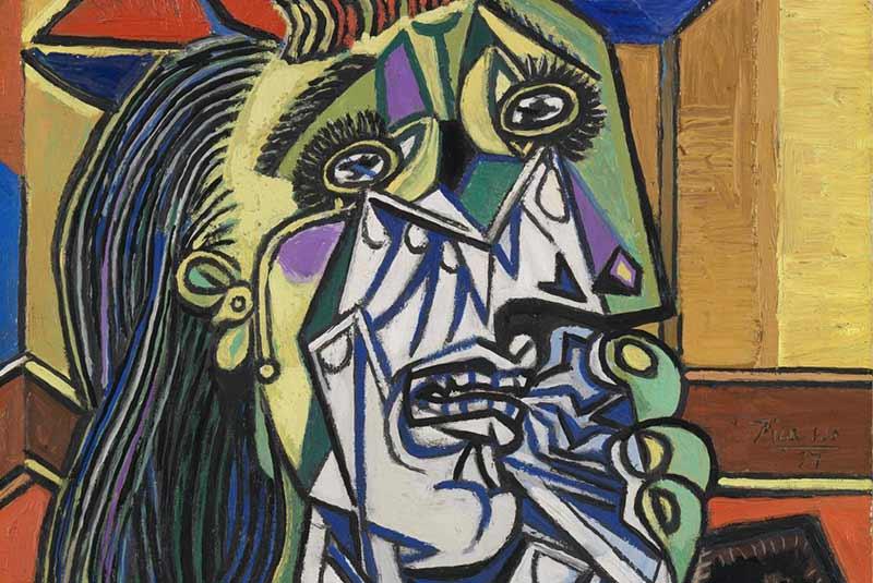 زن گریان - پیکاسو