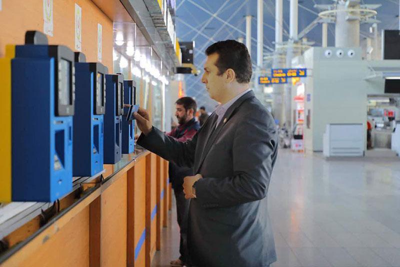 دستگاه های خودپرداز غیرنقدی عوارض خروج از کشور