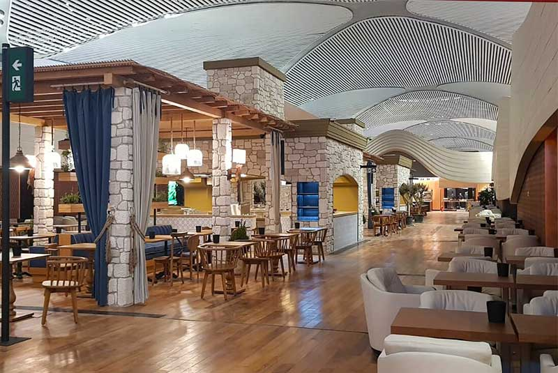 سالن CIP فرودگاه جدید استانبول