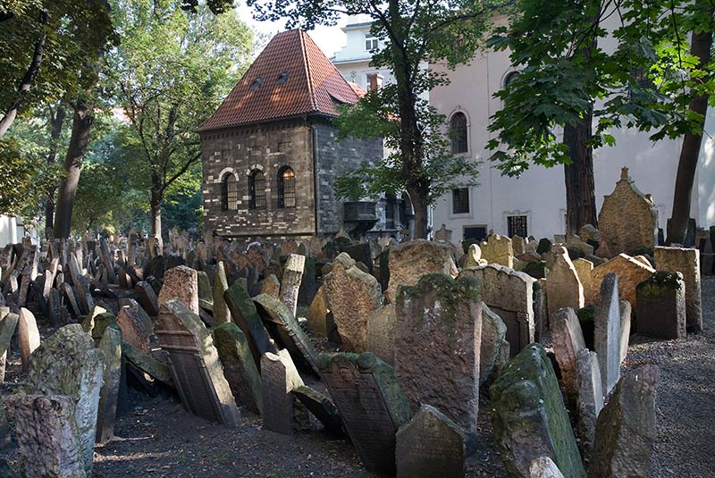 گورستان قدیمی یهودیان پراگ