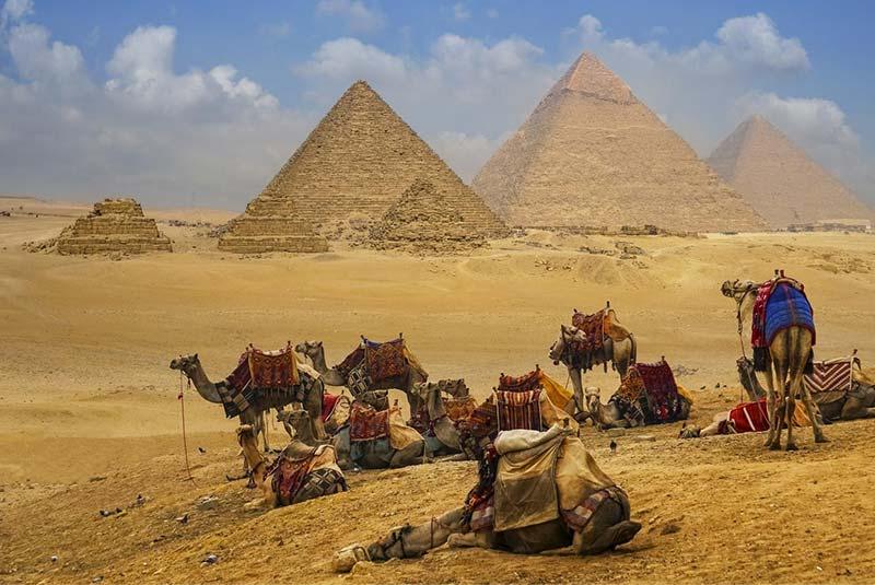 آرامگاه فرعون - اهرام مصر