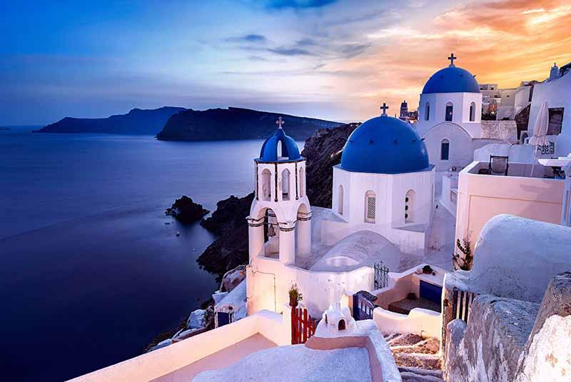 گردش 24 ساعته سانتورینی - یونان