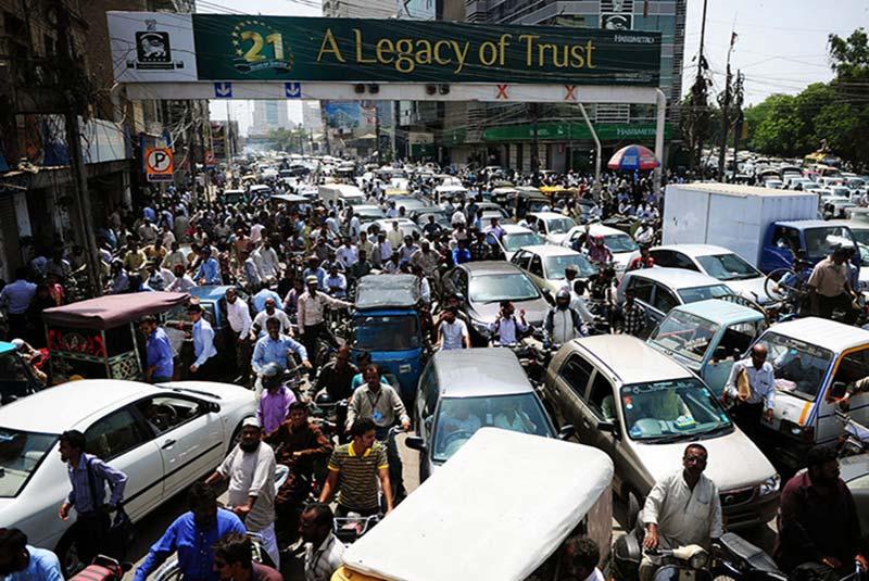 جمعیت بالا در پاکستان