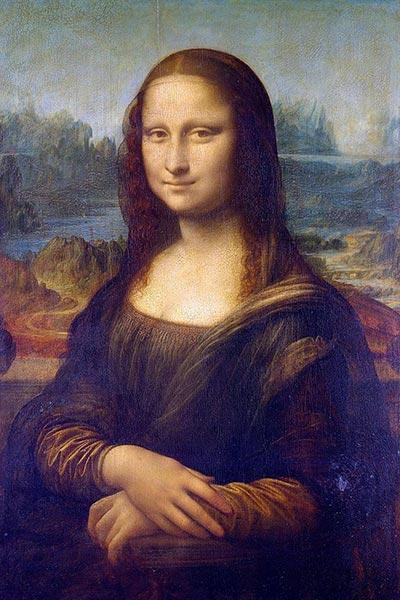 لبخند مونالیزا - داوینچی