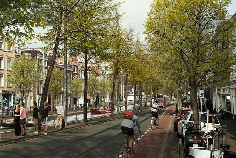 خیابان های لاهه - هلند