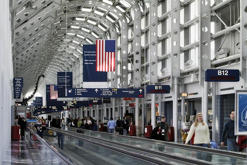 فرودگاه اوهر شیکاگو