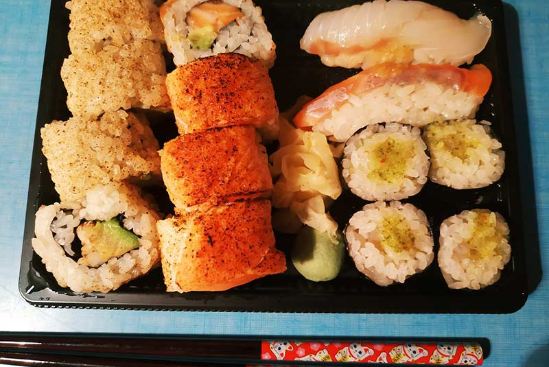 رستوران سوشی آنژه