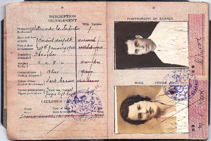پاسپورت بریتانیا در جنگ جهانی دوم