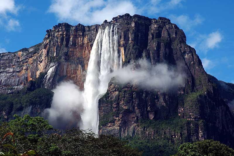 بزرگترین و بلندترین آبشار جهان