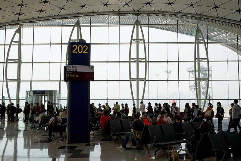 فرودگاه های شلوغ دنیا