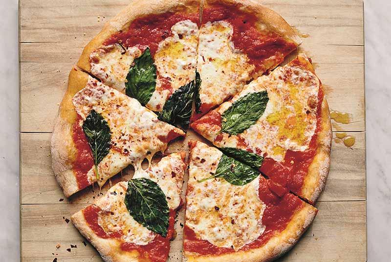 دستور پخت پیتزا مارگریتا