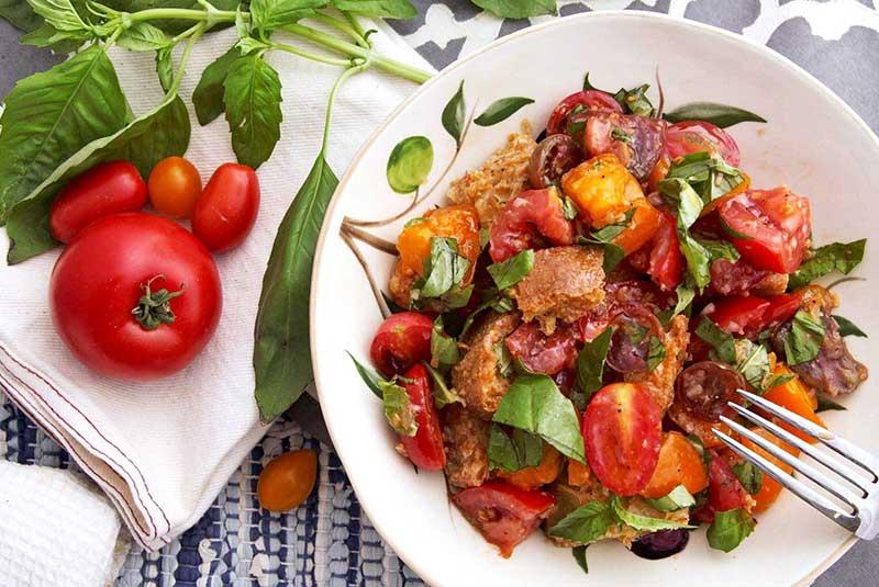 رسپی سالاد پانزانلا - غذای ایتالیایی