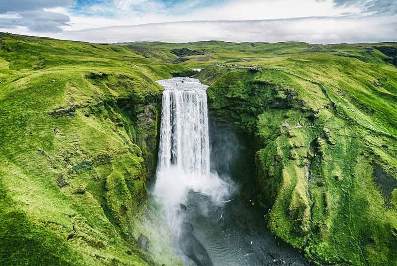 بلندترین آبشار دنیا