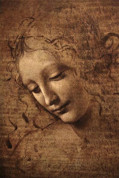 یک اثر مشهور از داوینچی