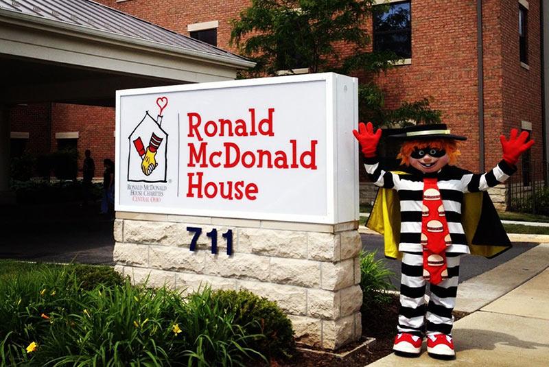 خانه های رونالد مک دونالد